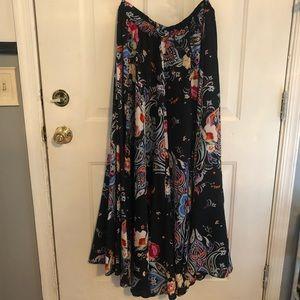 3/$28 Silky Maxi Skirt